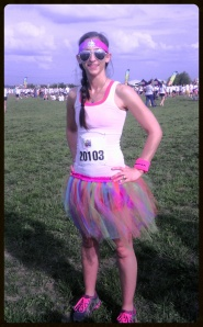 Me prior to the race!