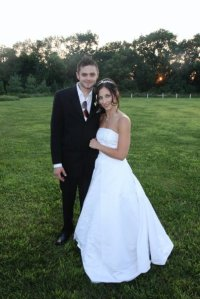 My amazing hubby and I - August 1, 2009